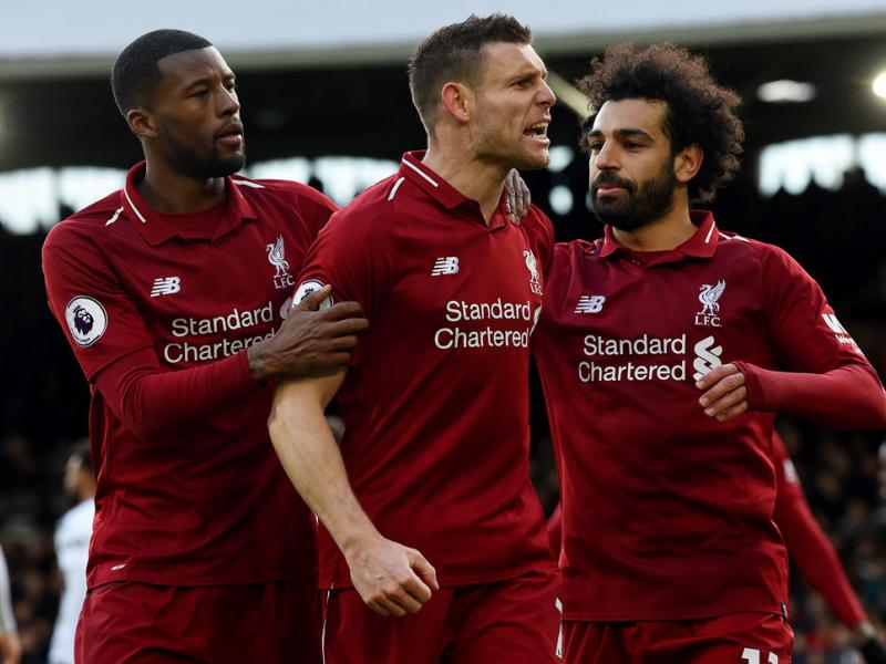 Liverpool beats Fulham in the Premier League