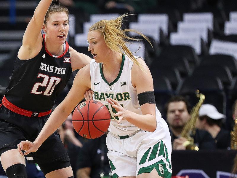 Women's NCAA tournament 2019 Baylor Bears Lauren Cox March Madness