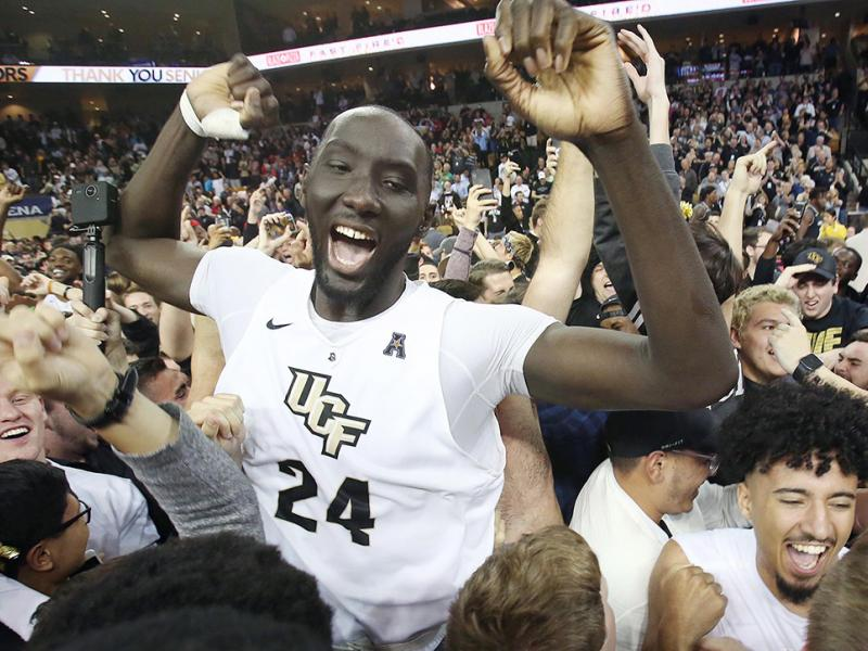 Tacko Fall: UCF basketball star's height, NBA prospects after March Madness