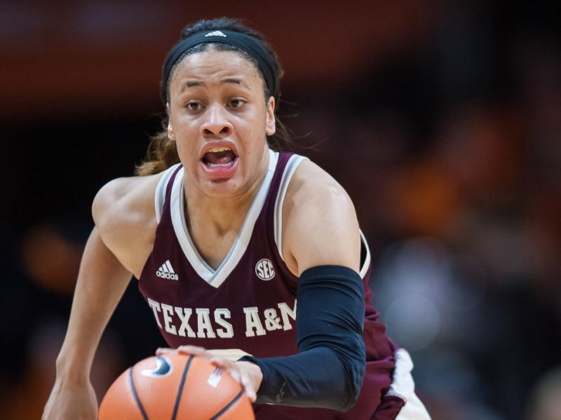 COLLEGE BASKETBALL: FEB 01 Women's - Texas A&M at Tennessee