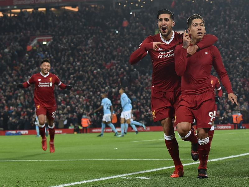 Liverpool beats Man City in a 2018 classic at Anfield