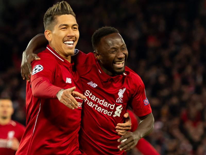 Roberto Firmino and Naby Keita score for Liverpool vs. Porto