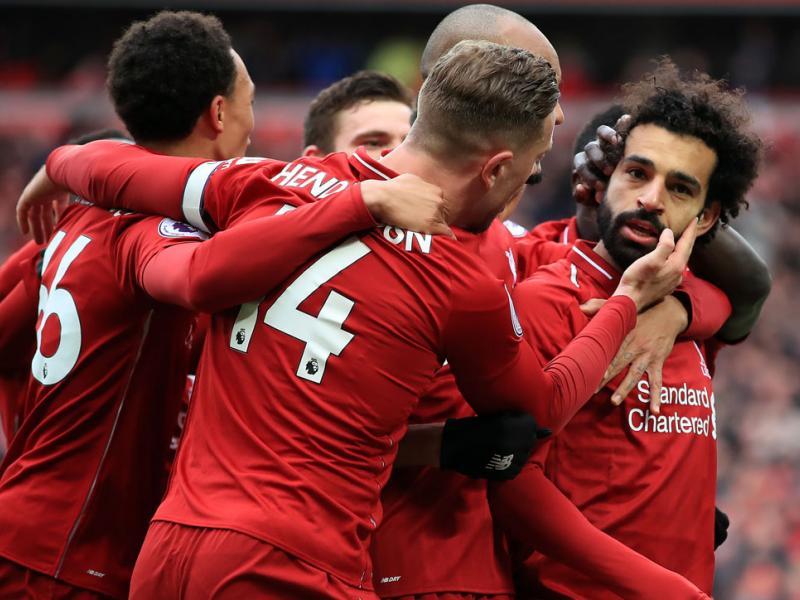 Mohamed Salah scores a golazo for Liverpool vs. Chelsea