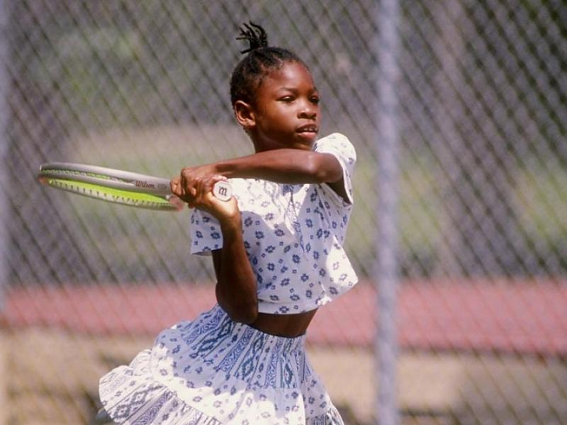From her humble beginnings, Serena Williams has climbed to the top of the tennis world. Here are some rare photos of the woman Billie Jean King says is the best player in tennis history.