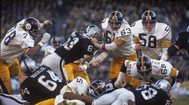 Steel Curtain, 1974 AFC Championship, Steelers vs Raiders, Joe Greene, Jack Lambert, Dwight White, Ernie Holmes, L.C. Greenwood, LC Greenwood