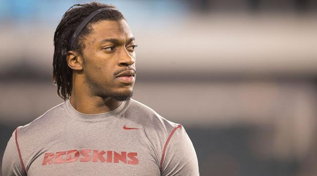 Robert Griffin III was active for only one game this season and never played a down.