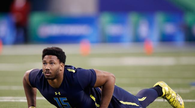 Cleveland will likely take Myles Garrett with the first pick.