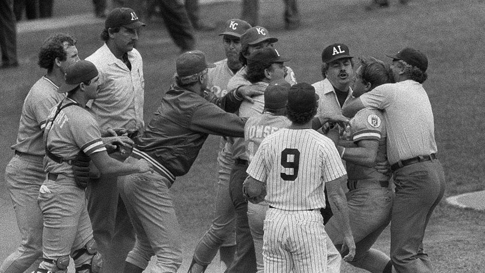 """July 24, 1983:  The crazy """"pine tar"""" game"""