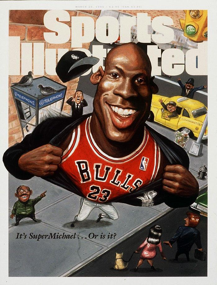 Sports Illustrated Cover Book ~ Best comic book style covers