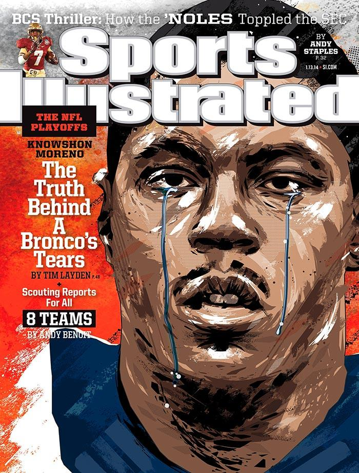 Sports Illustrated Cover Book : Best comic book style covers