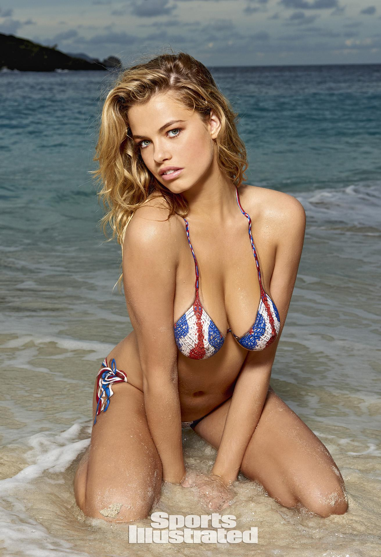 Hailey Clauson Swimsuit Body Paint Photos, Sports Illustrated Swimsuit ...