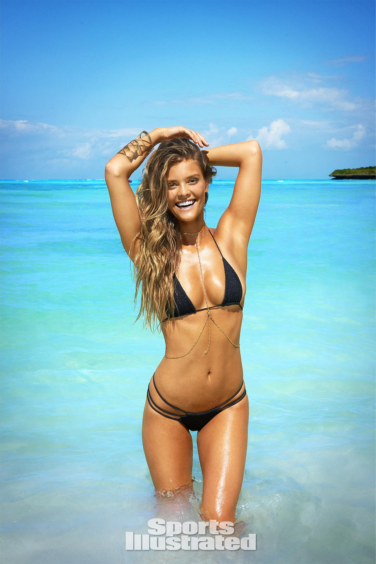 Nina Agdal was photographed by Ruven Afanador in Zanzibar. Swimsuit by INDAH.