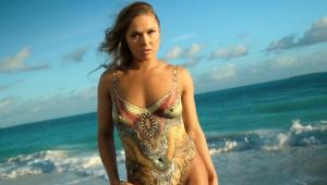 Ronda Rousey Swimsuit Body Paint Photos, Sports Illustrated ...