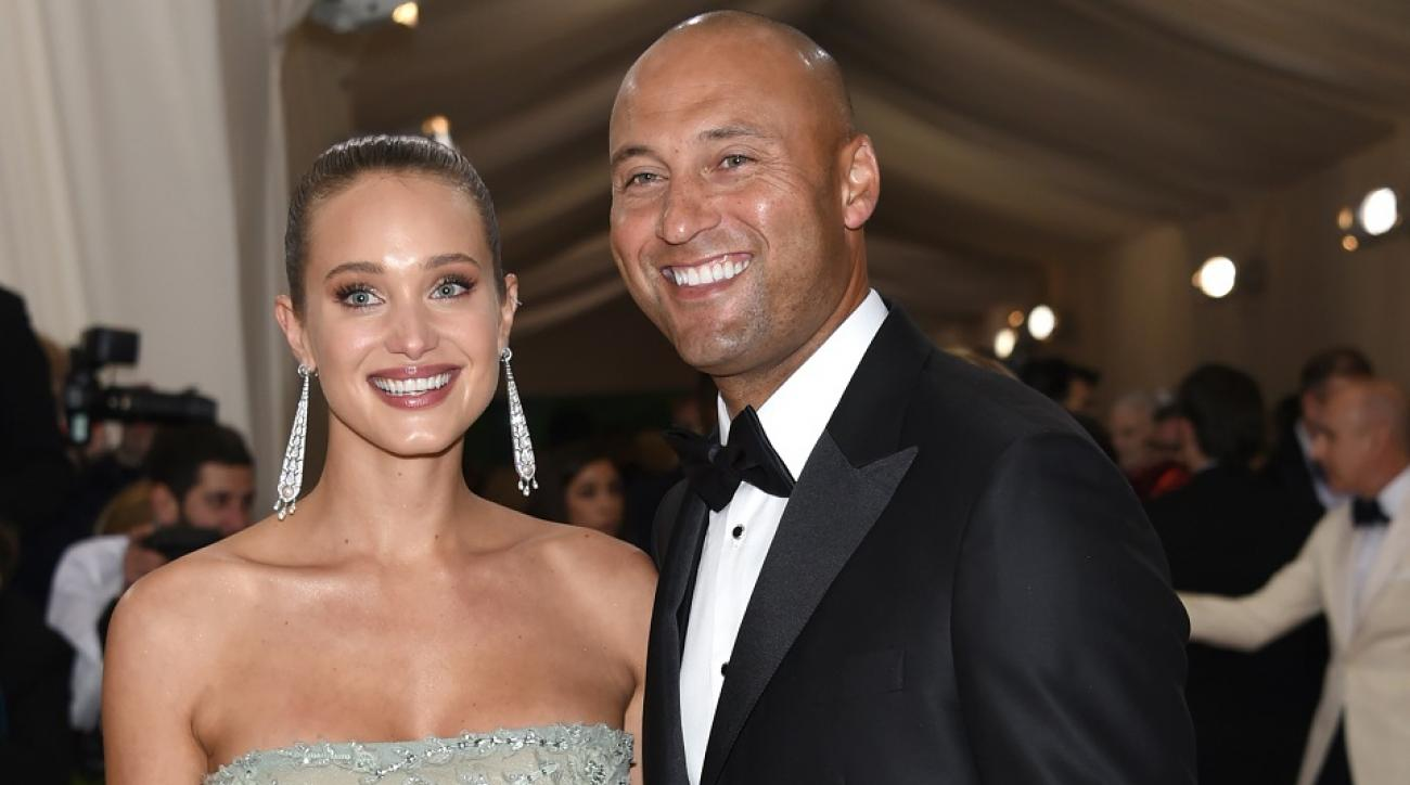 Jeter marries SI swimsuit model in Napa Valley