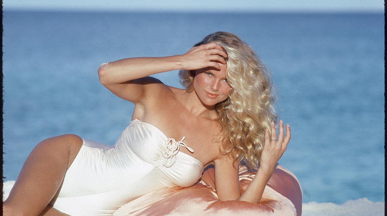 Christie Brinkley, now 60-years-old, was once a SI Swimsuit cover girl.