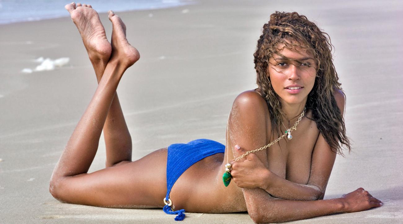 Ana Paula Araujo on the beaches of Itacaré, Brazil, SI Swimsuit 2007