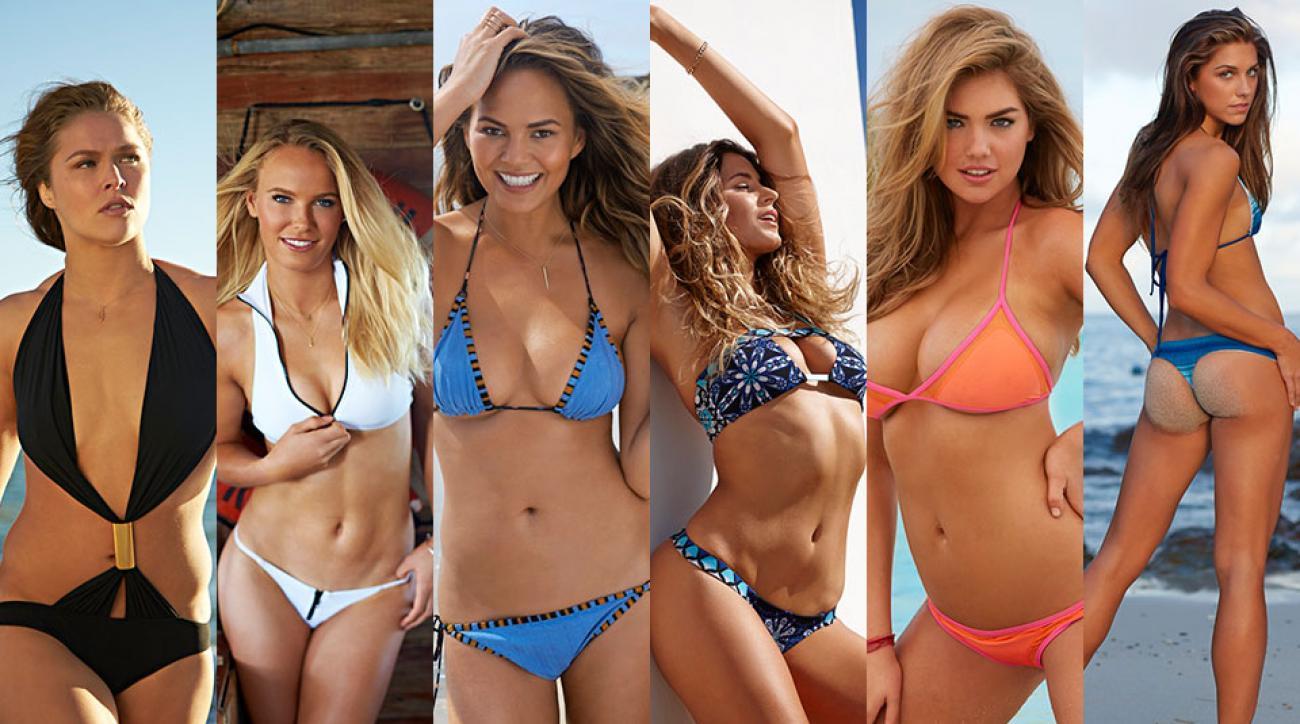SI Swimsuit models up for AskMen's Top 99 Outstanding Women 2015