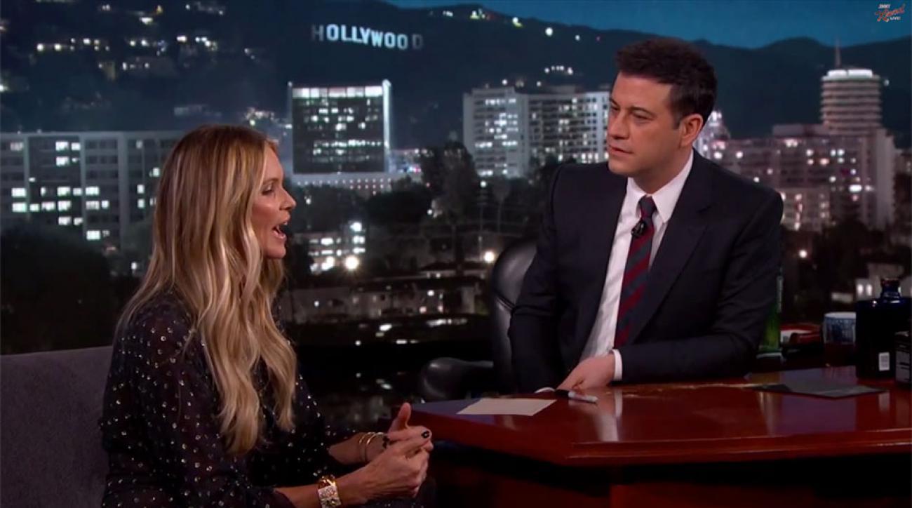 Elle Macpherson on Jimmy Kimmel Live!