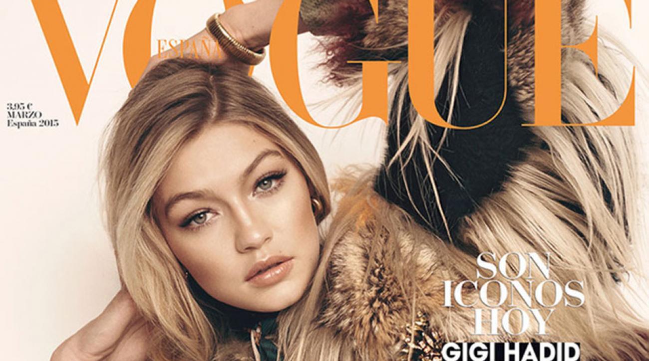 Gigi Hadid for Vogue España, March 2015
