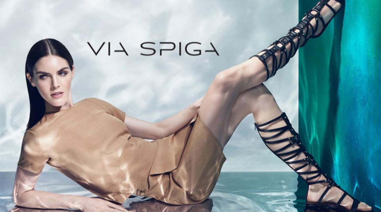 Hilary Rhoda for Via Spiga
