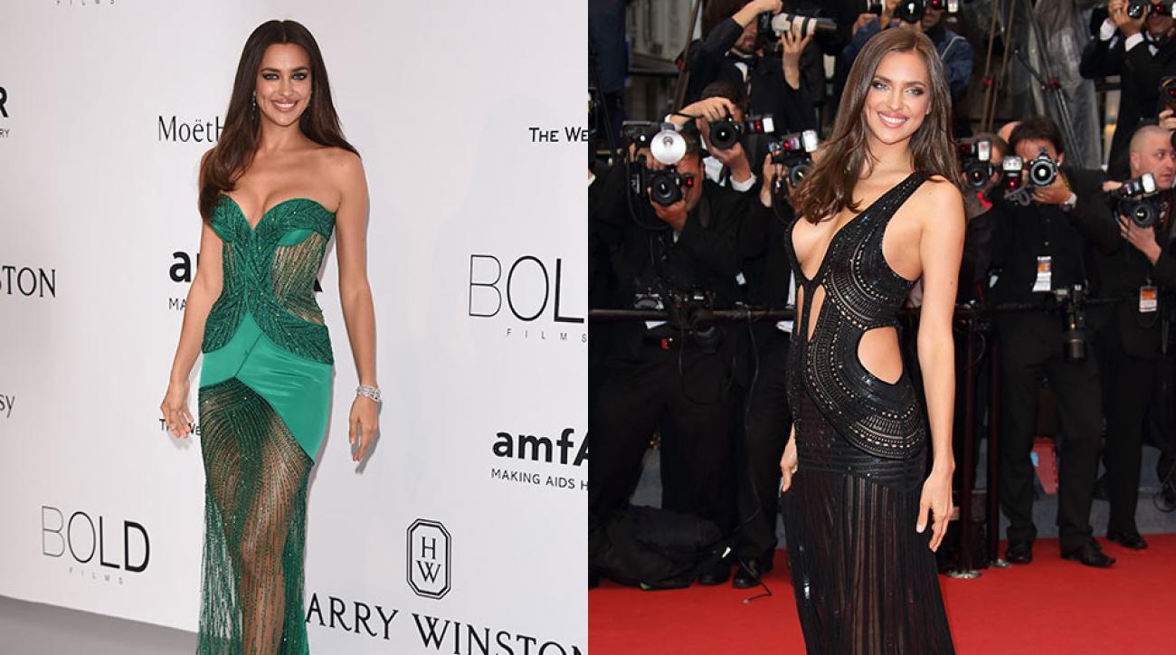 Irina Shayk, Cannes Film Festival 2015 and 2013