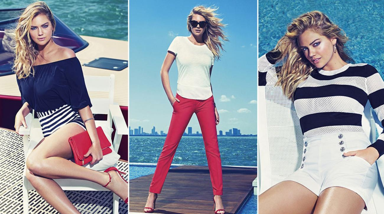 Kate Upton for Express, Spring 2015