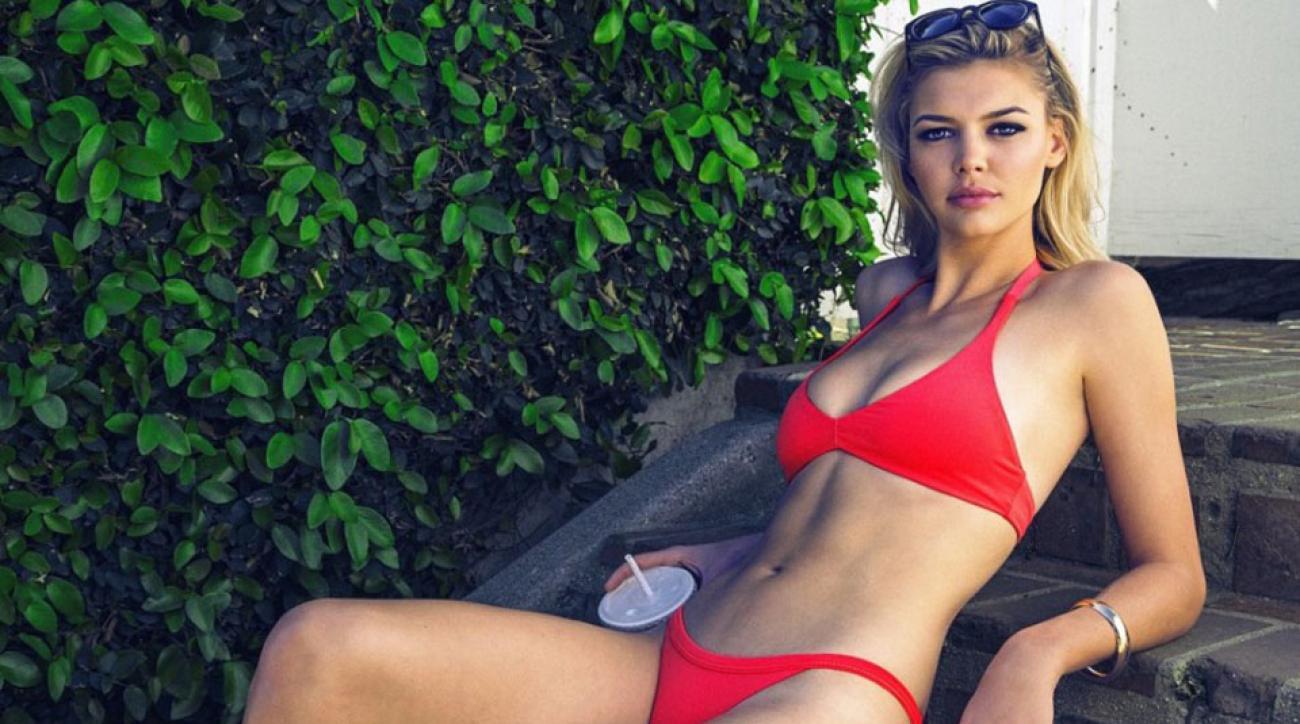 Kelly Rohrbach Works It In La For Rise City Swimwear