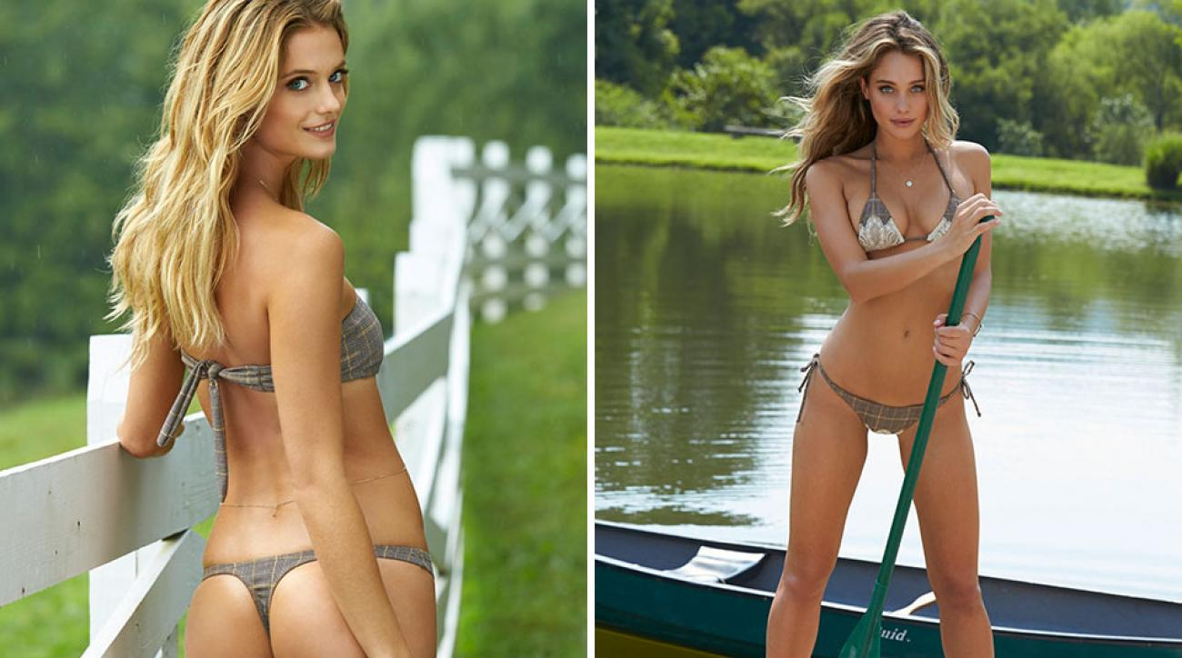 Kate Bock and Hannah Davis, SI Swimsuit 2015