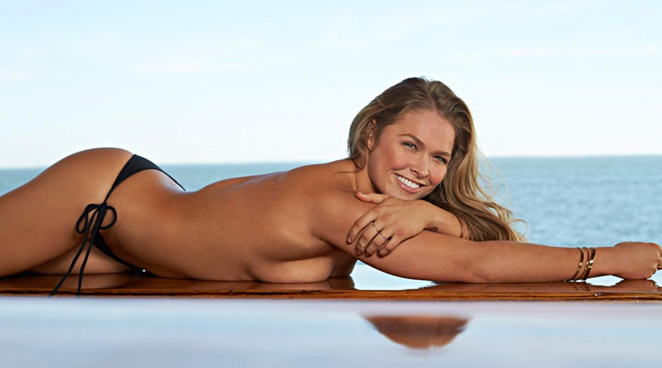 Ronda Rousey, SI Swimsuit 2015