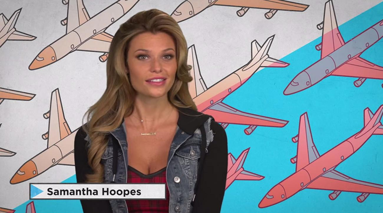 Samantha Hoopes guest stars on Guy Code