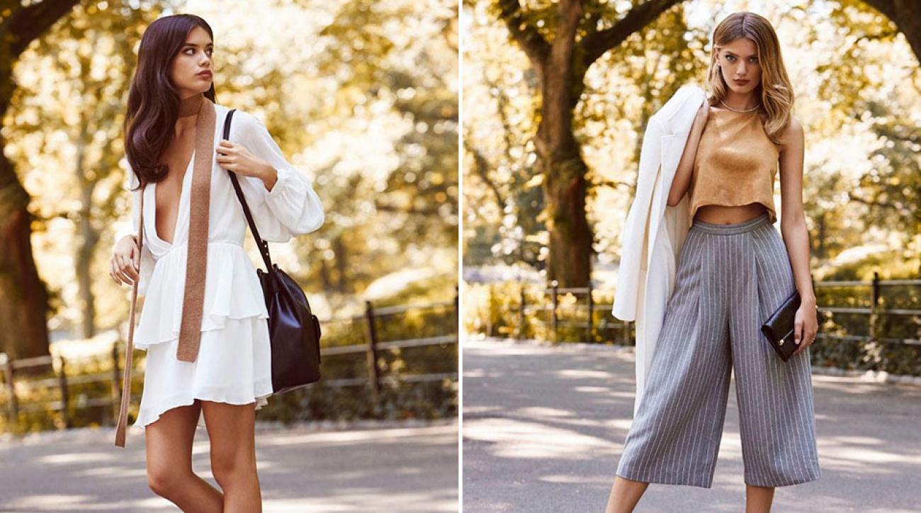Sara Sampaio and Bregje Heinen for Revolve Clothing