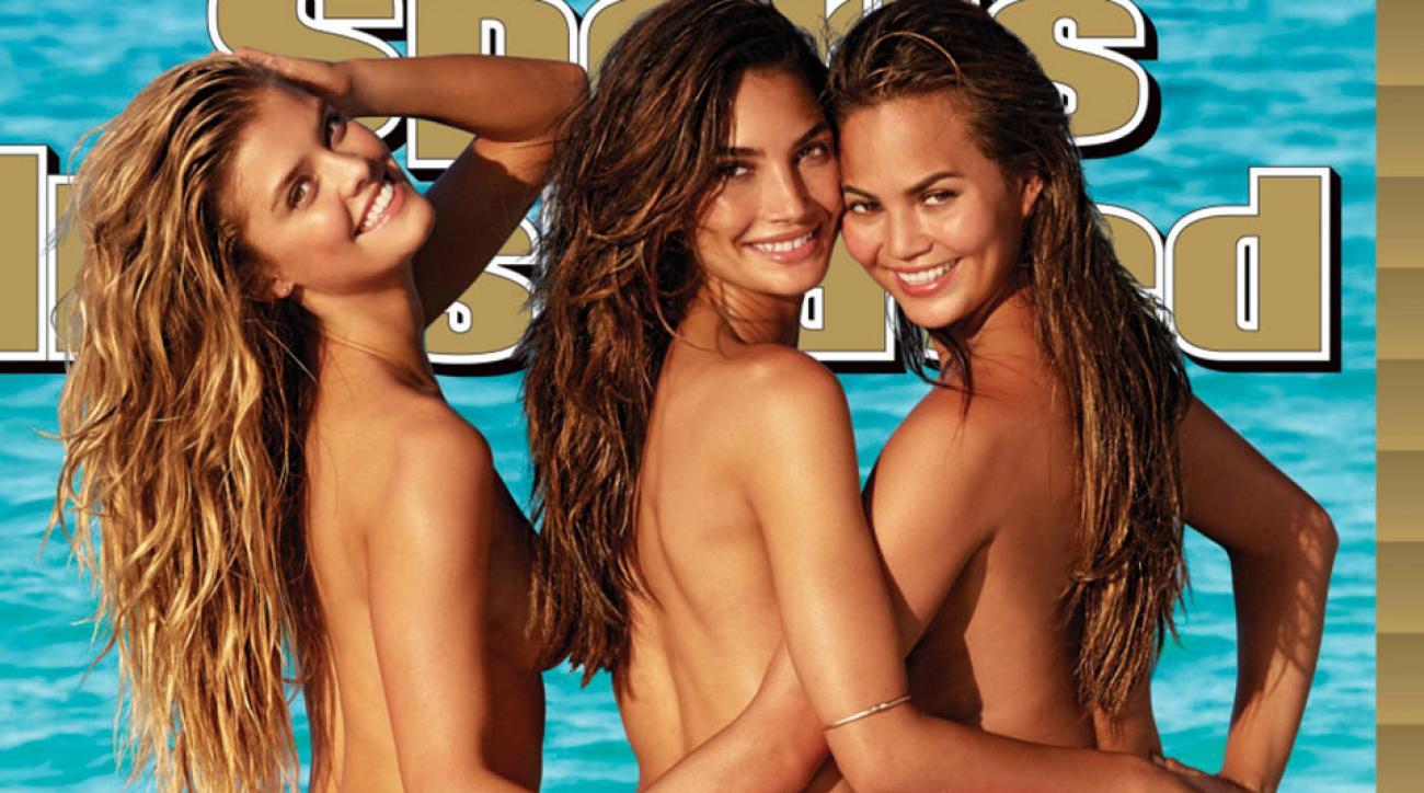 Nina Agdal, Lily Aldridge & Chrissy Teigen, SI Swimsuit 2014