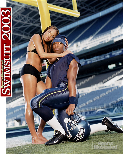 Valerie and Shaun Alexander