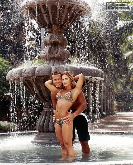 Cynthia and Alex Rodriguez (Texas Rangers)