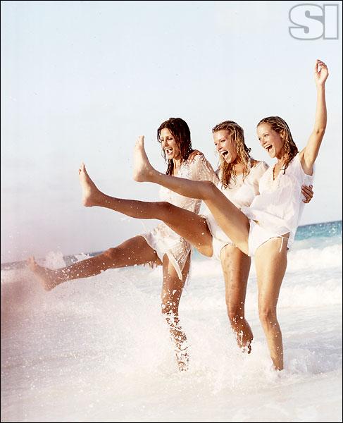 Agua 7 [Elsa]; Elizabeth Hurley Beach [Veronica]; Cynthia Rose NY [Carolyn]