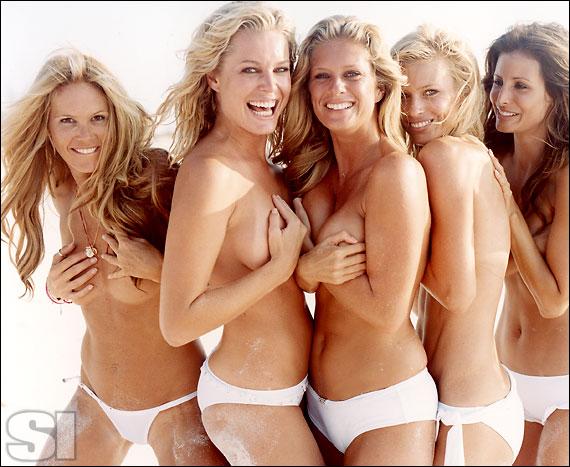 Dolce & Gabbana [Elle]; Chio di Stefania D [Rebecca]; BCBG Max Azria [Rachel]; Calvin Klein\nSwimwear [Daniela]; Christina Liquori Swim [Elsa]