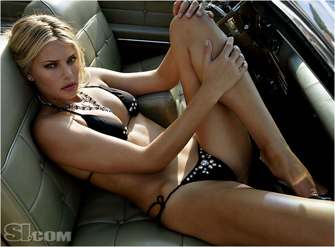 Beach Bunny Swimwear; Car provided by Hall Prewitt Picture Cars