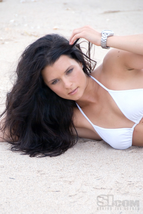 Danica Patrick 2008 Sports Illustrated Swimsuit Edition