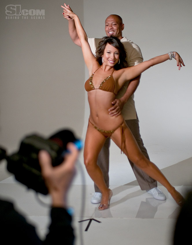 c39cac52f4a9d Cheryl Burke - Maurice Greene - Behind The Scenes - Los Angeles ...