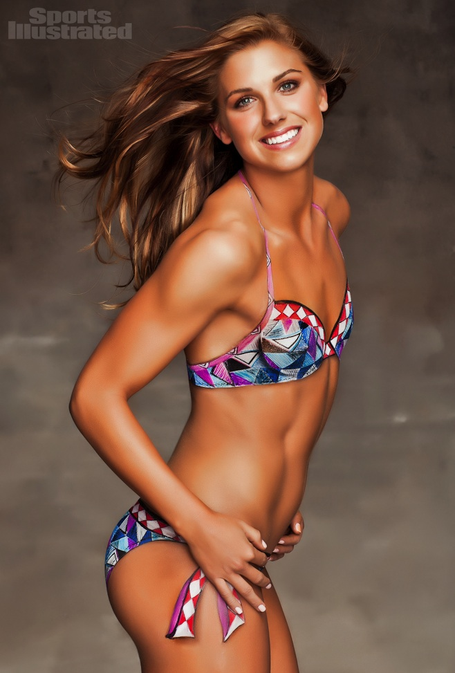 Alex Morgan - Body Paint - 2012 Sports Illustrated Swimsuit Edition ...