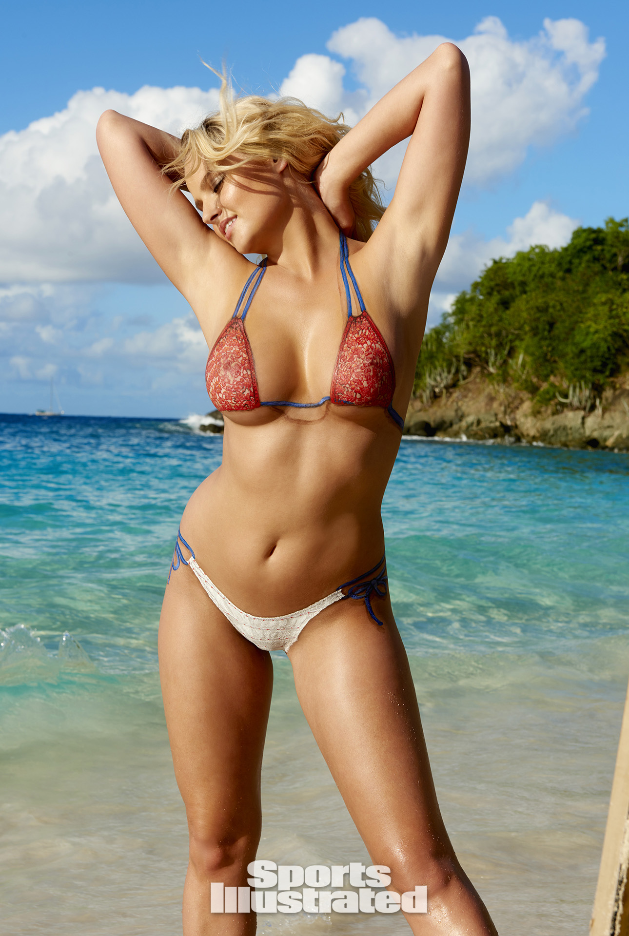 Rachel Hunter Sports Illustrated Body Paint