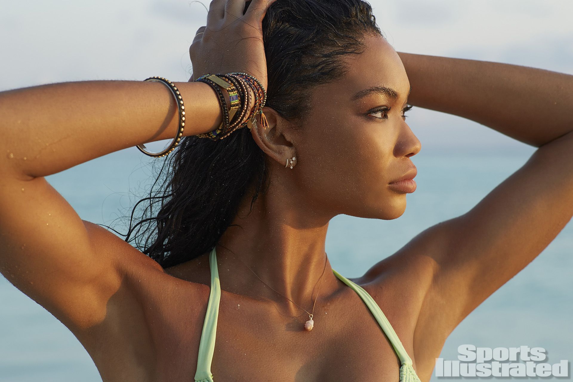 chanel iman 2014 swimsuit photo gallery sicom