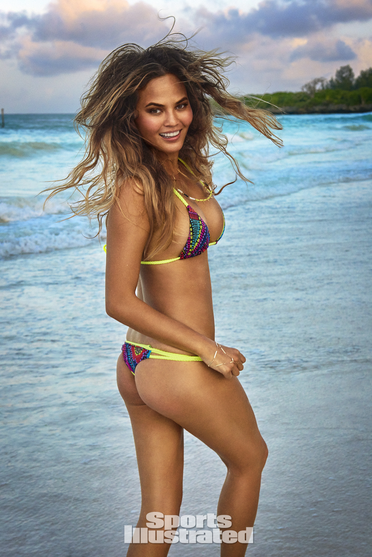 Chrissy Teigen was photographed by Ruven Afanador in Zanzibar.