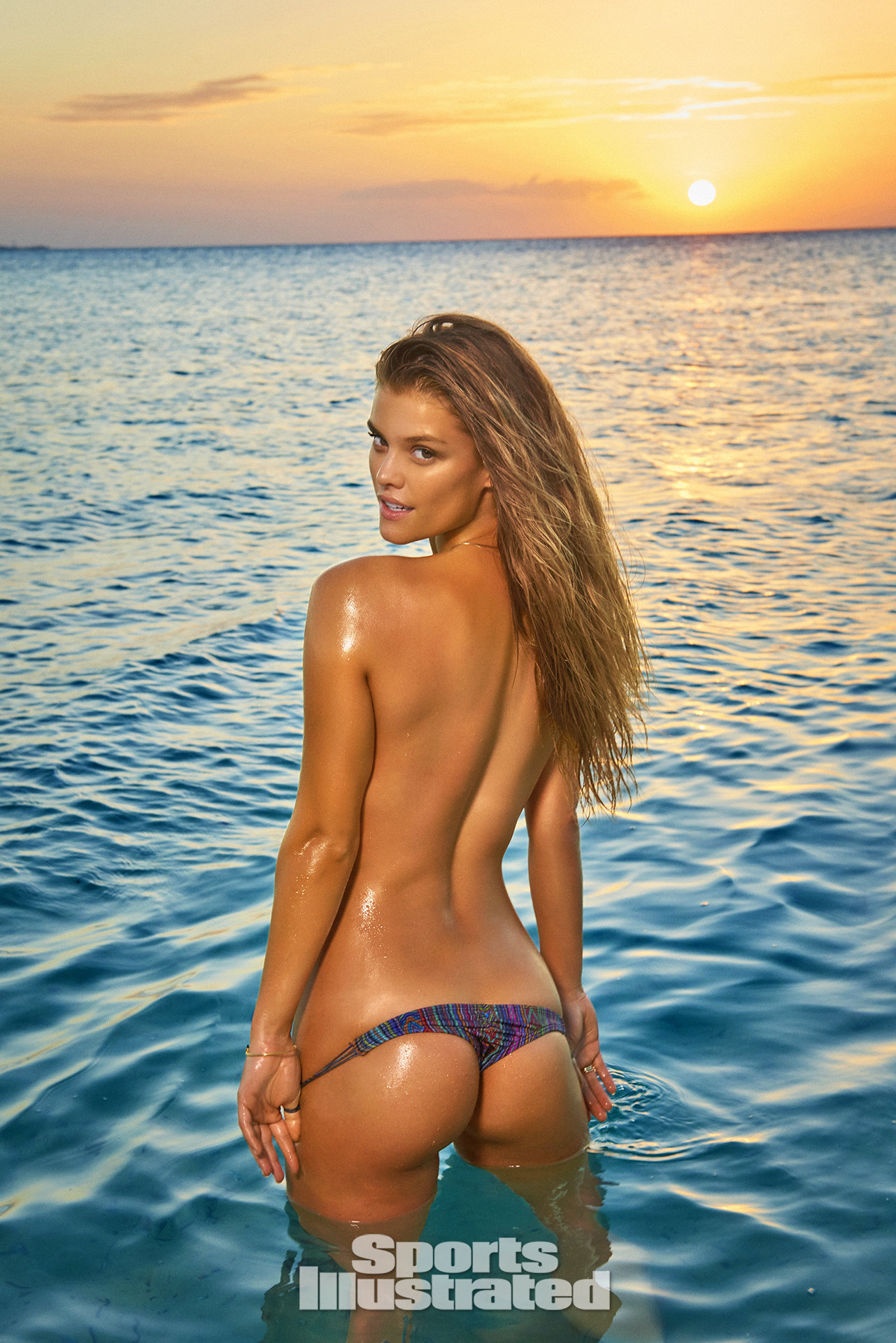 Nina Agdal was photographed by Ruven Afanador in Zanzibar.