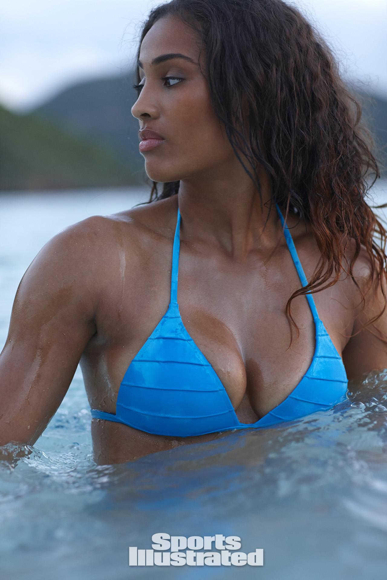 Wet sexy big tits