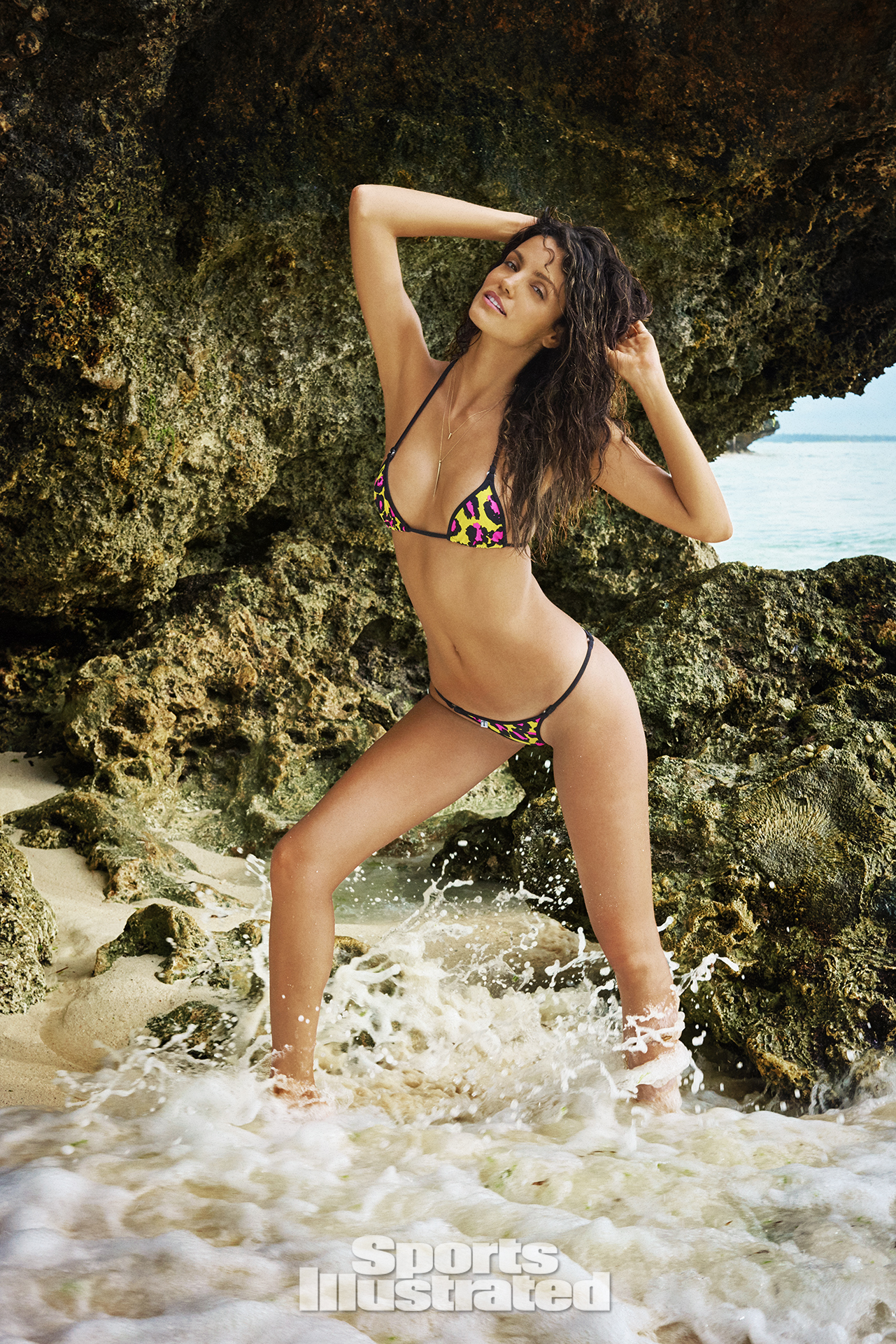 Sofia Resing was photographed by Ruven Afanador in Zanzibar. Swimsuit by TeenyB Bikini Couture.