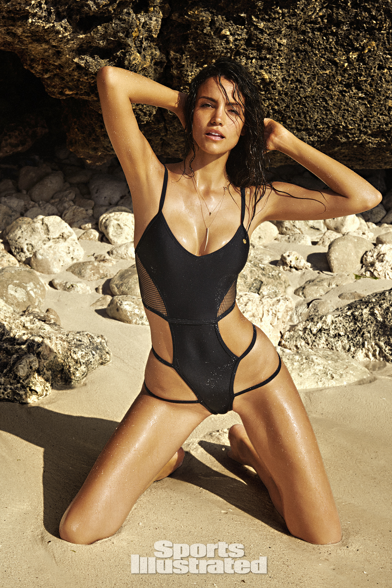 Sofia Resing was photographed by Ruven Afanador in Zanzibar. Swimsuit by Asherah Swimwear.