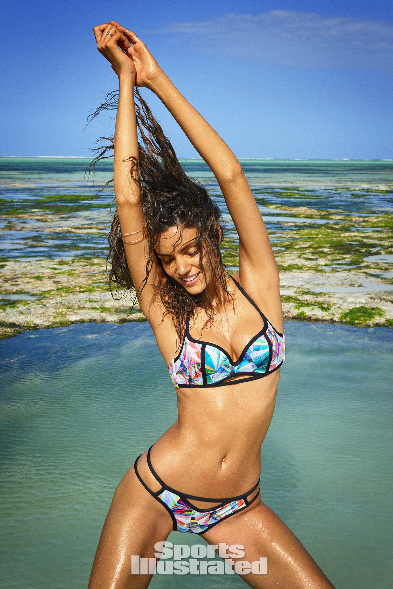 Sofia Resing was photographed by Ruven Afanador in Zanzibar.