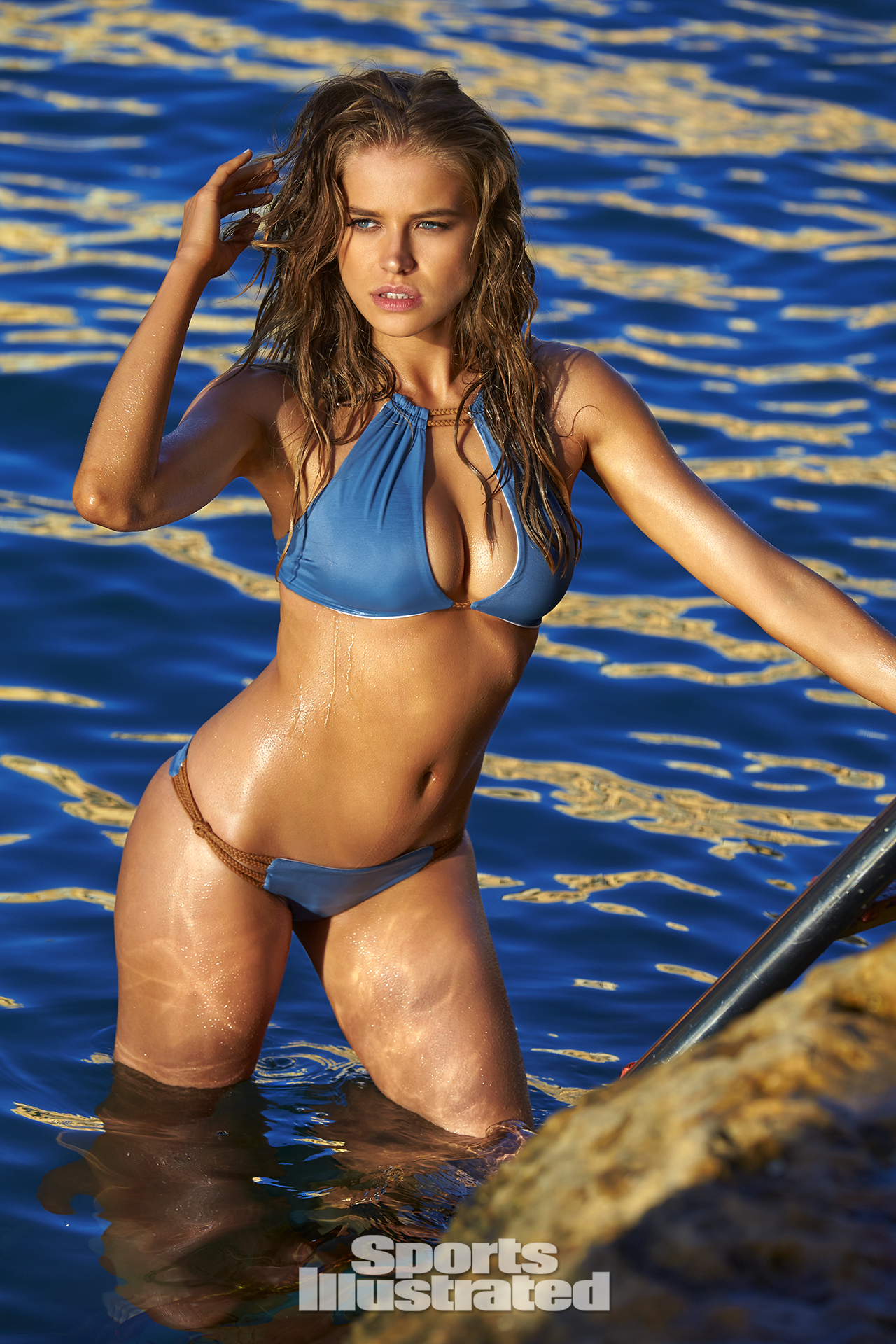 40432f19b7 Tanya Mityushina was photographed by Ben Watts in Malta. Swimsuit by KOA  Swim.