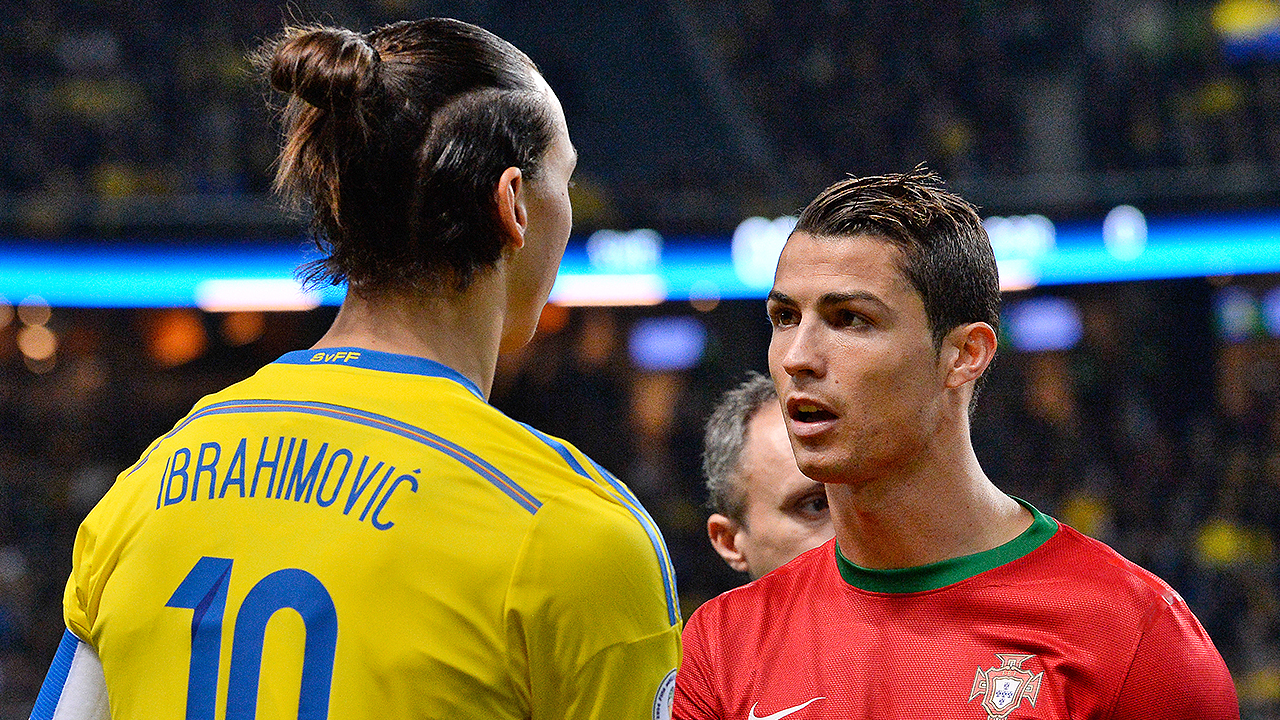 Cristiano Ronaldo Zlatan Ibrahimovic says he s only good